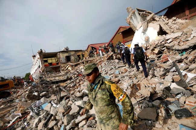 Mexican quake death toll rises to 90 as Oaxaca reports more fatalities