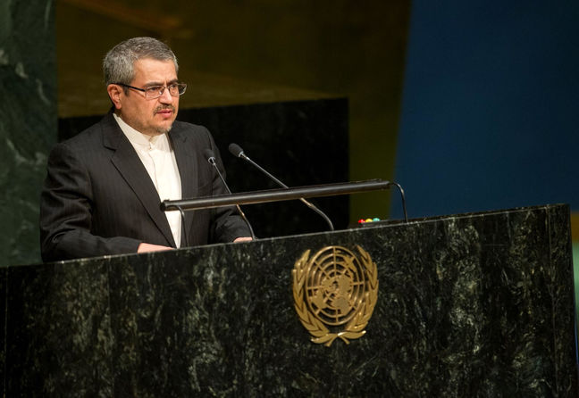 Total elimination of WMD is top priority: Iran's UN envoy