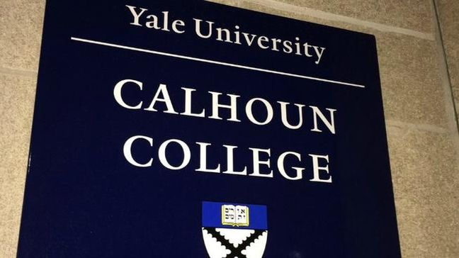 Yale to change name of college tied to 19th century slavery defender