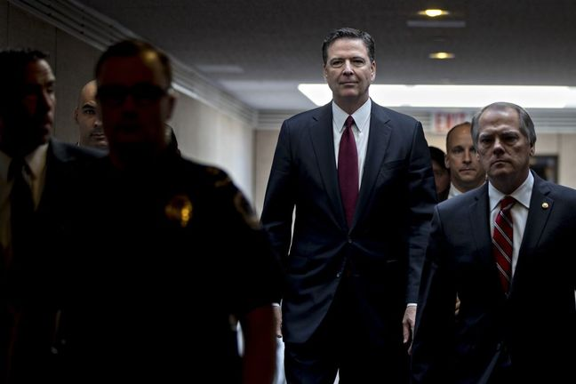 Comey Responds to Trump: 'This Is Not Some Tin-Pot Dictatorship'