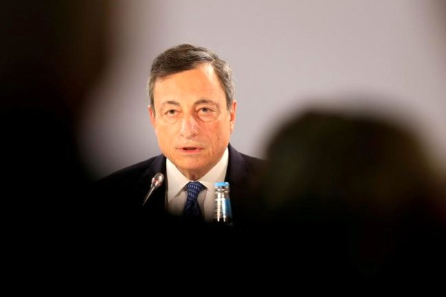 Draghi Says Protectionism Is a Threat to Global Economic Growth