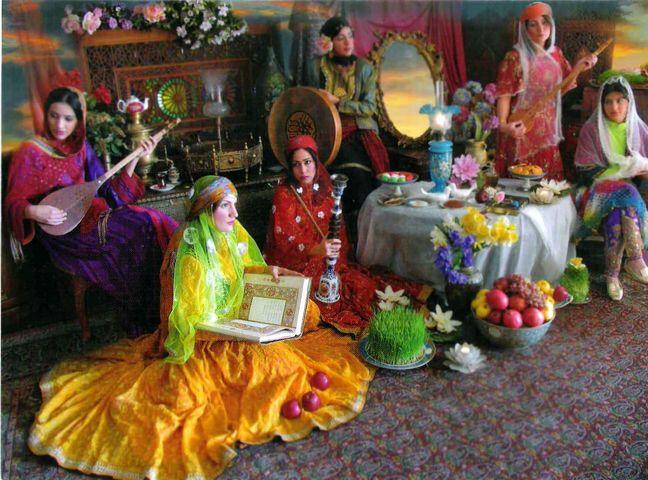Norouz celebration of peace, humanity