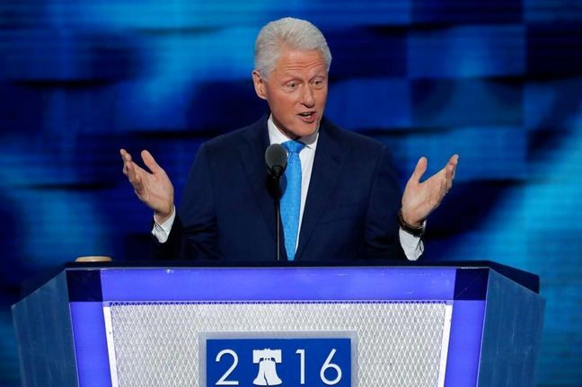 Bill Clinton portrays Hillary as 'change-maker' in speech to Democrats