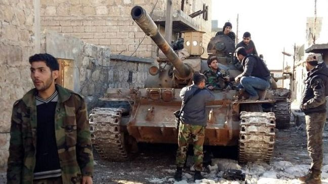 Syrian army captures part of rebel-held east Aleppo