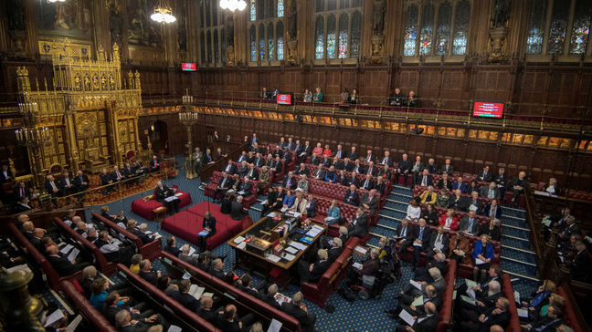 Britain's upper house of parliament votes in favor of staying in EU's single market