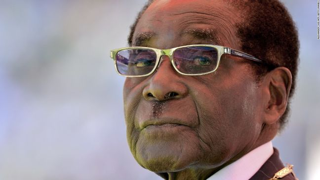 Zimbabwe's Military Seizes Power, Detains Mugabe