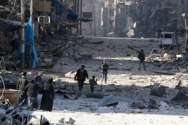 Syrian government drives rebels from swath of Aleppo