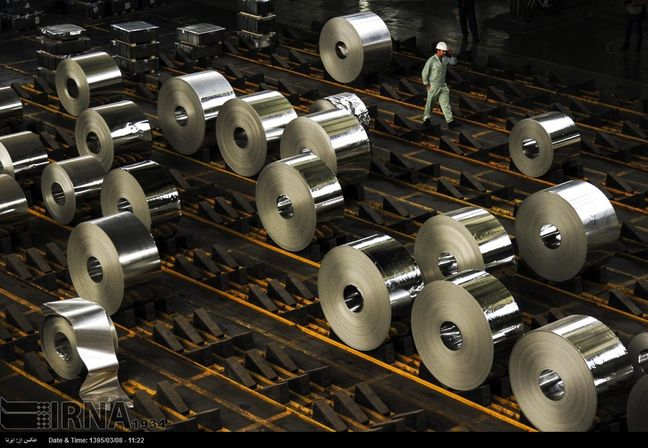 Iran Steel Exports Up 83%