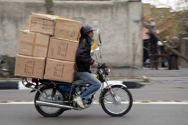 Motorbike Delivery App Makes Tempting Offer