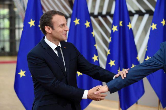 France's Macron, seeking to re-shape Europe, heads east