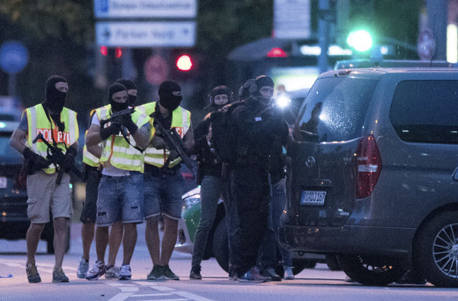What happened in Munich on Friday evening