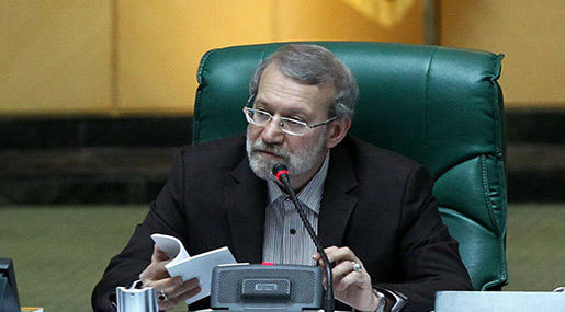 Larijani communicates 6th development plan to President Rouhani