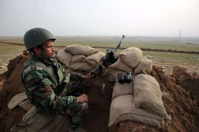 Kurds, Shi'ite fighters to coordinate after sealing off Mosul