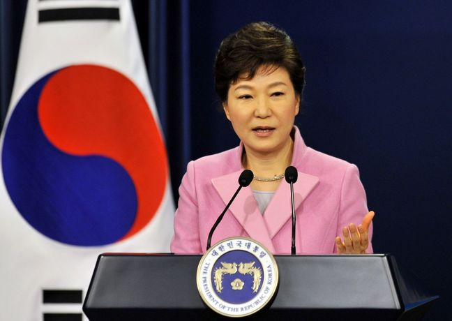 South Korea's president calls on Russia, others, to pressure Pyongyang over nuclear program