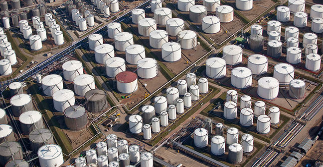 Oil markets roiled as Hurricane Harvey hits U.S. petroleum industry