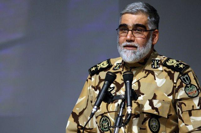 Iran military doctrine, defensive: Commander
