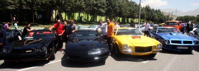 Classic Car Rallies in Tehran and Alborz
