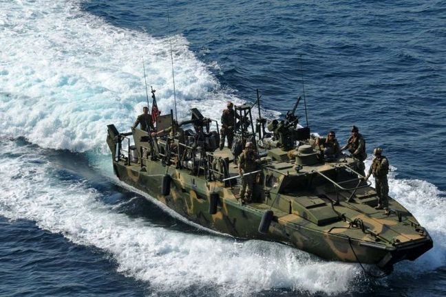 Iran Guards says it held Gulf drills as U.S. tensions rise