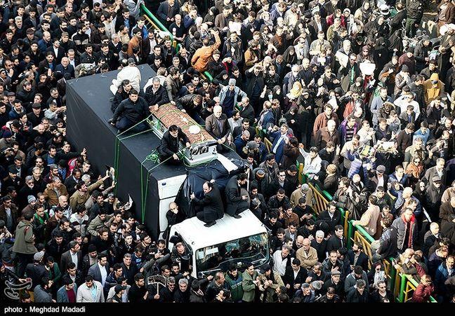 Ayatollah Rafsanjani laid to rest in Imam Khomeini mausoleum