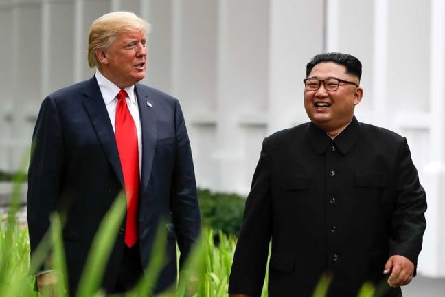 Kim Jong Un Open to 3rd Trump Summit