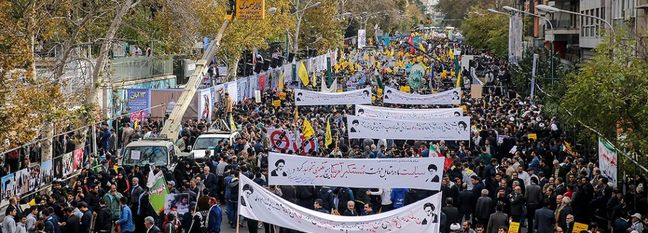 Iran Marks US Embassy Seizure, Pledges to Resist Sanctions