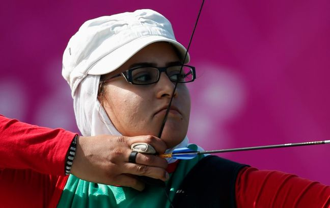 Iranian female Paralympic archer wins gold medal