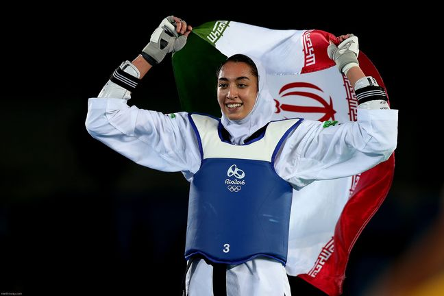 Iran wins first women Olympics medal