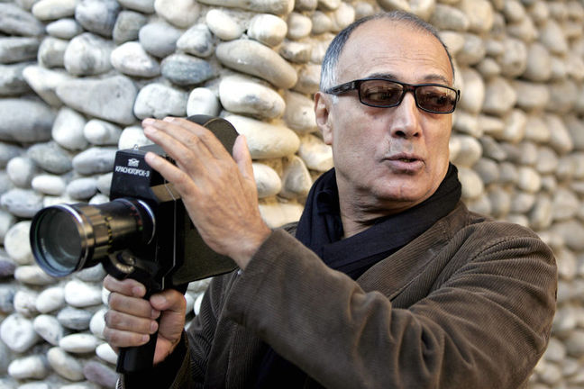 A tree dedicated to Abbas Kiarostami at Karlovy Vary Festival