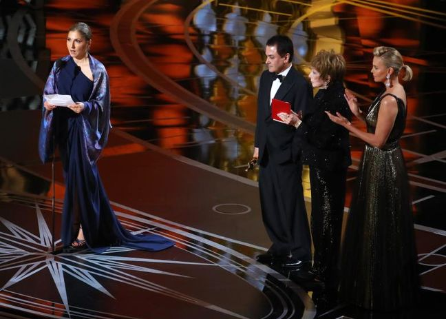 Iran's 'The Salesman' wins Oscar for best foreign language film