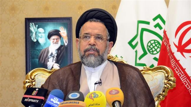 Iran uncovers huge arms depot of terror group: Intelligence minister