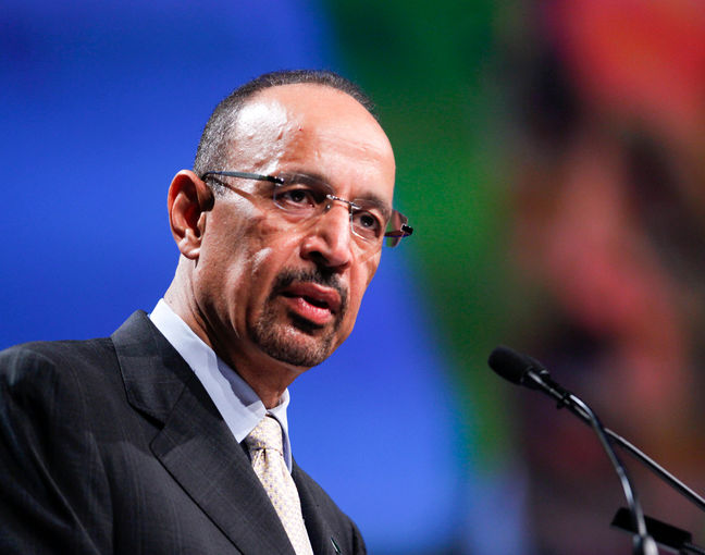 Saudi Oil Minister Says No Need Now to Freeze Crude Output
