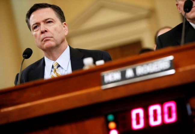 Trump Reviewing Whether to Block Comey Testimony to Senate