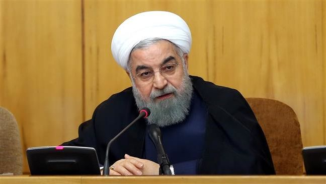 Iranian president vows due response to US sanctions