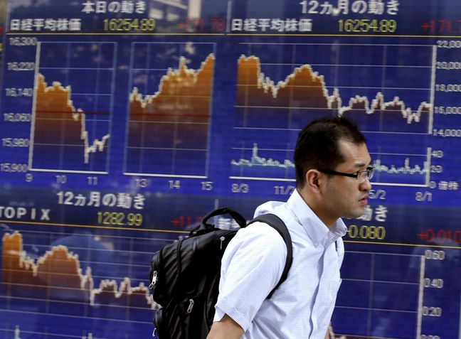 Financials lift stocks in Europe and Asia, pound dips before BoE decision