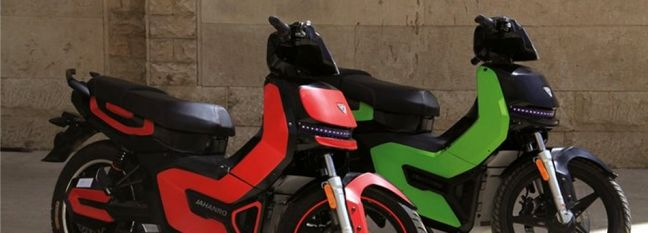 Electric Motorcycle Made in Gilan