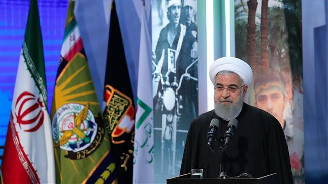 President Rouhani: We must be strong and powerful