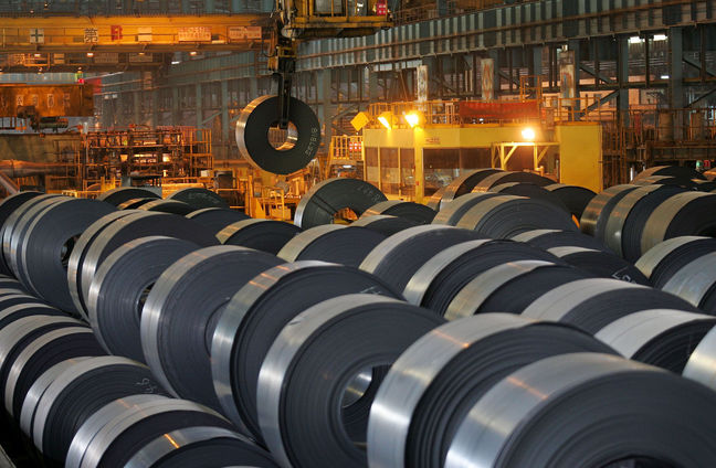 Iran Steel Output Up 25%