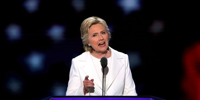 Clinton voices concern about Russian interference in election