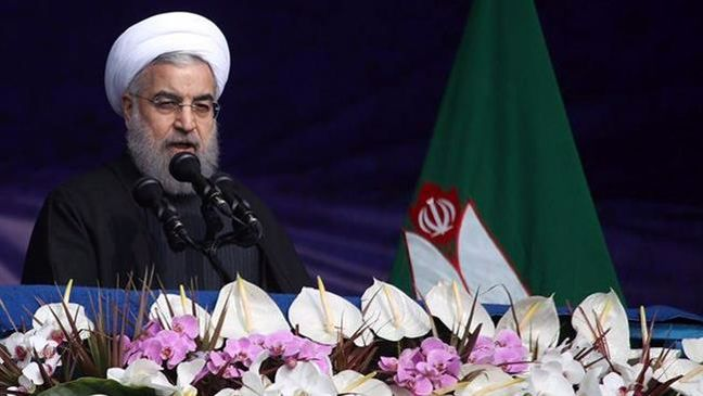 Rouhani Says Iran Won't Be 'Bullied' as Rallies Criticise Trump