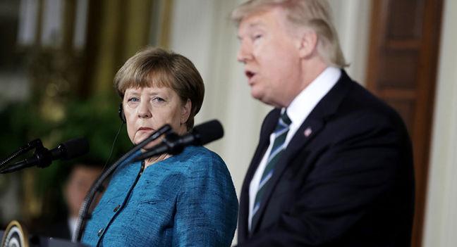 Merkel Takes on Trump Over Demands for German NATO Spending