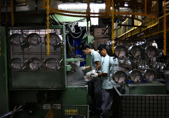 Industrial PMI Improves