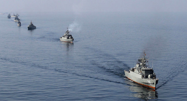 China-Iran joint naval drills kick off in Strait of Hormuz