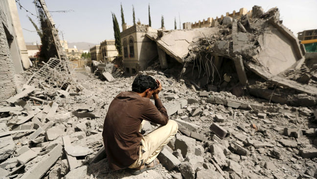 Saudi coalition air strikes kill most civilians in Yemen, Houthis also violate law: U.N.