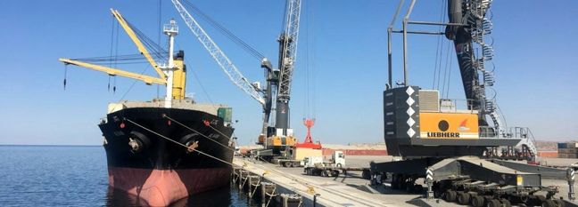 Weekly Shipping Service Between Chabahar and Ports in India