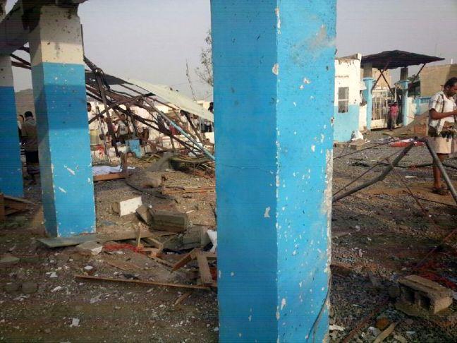 Air strike on MSF hospital in Yemen kills at least 11: aid group