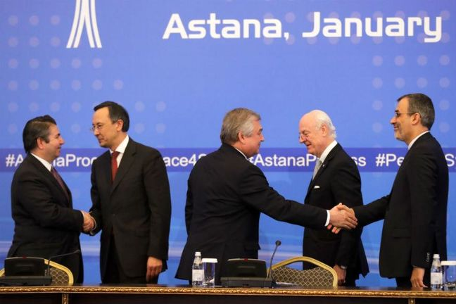 Iran to host Astana meeting over Syria on April 18-19