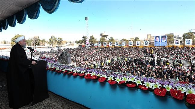 Iranian nation never forgets US acts of aggression in region: Rouhani