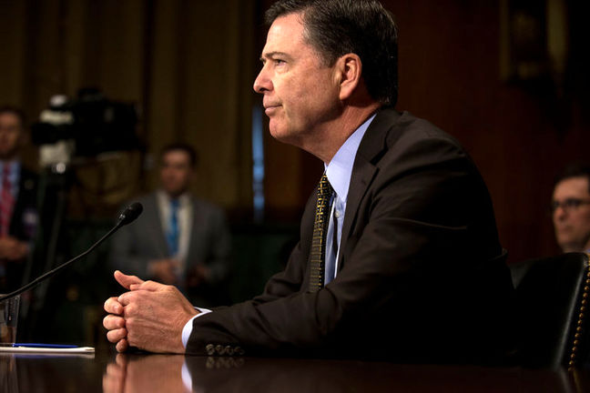 Trump Drafted Letter Arguing for Comey's Ouster, Sources Say