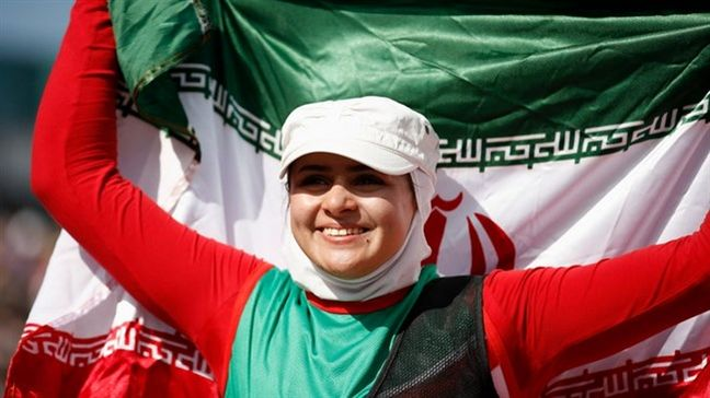 Iran's Nemati shortlisted for International Women's Day Recognition