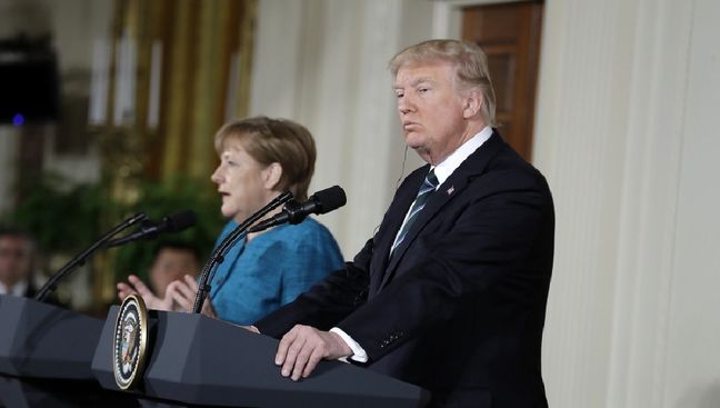 Trump Blasts Germany Again as Merkel, Modi Cite Mutual Values
